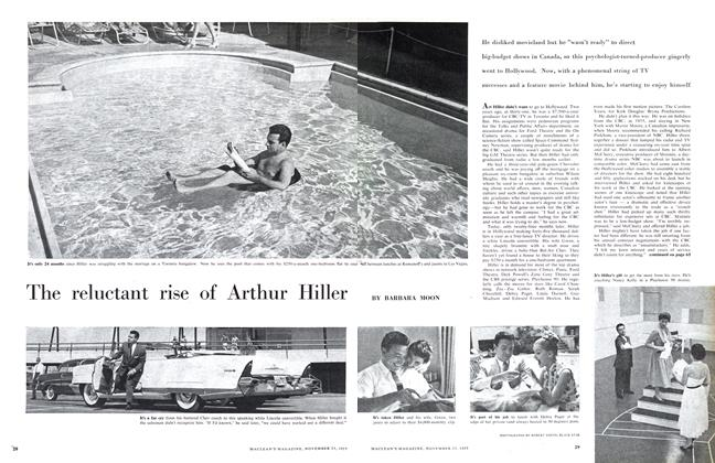 Article Preview: The reluctant rise of Arthur Hiller, November 1957 | Maclean's