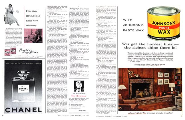 Article Preview: The Clergyman, November 1957   Maclean's