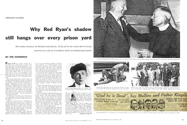 Article Preview: Why Red Ryan's shadow still hangs over every prison yard, December 1957 | Maclean's