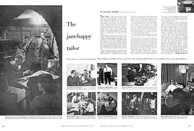 Article Preview: The jazz-happy tailor, December 1957 | Maclean's