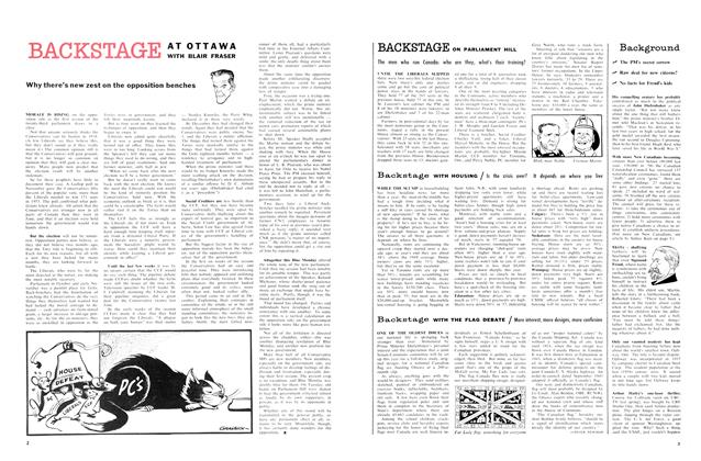 Article Preview: WITH THE FLAG DEBATE, January 1958 | Maclean's