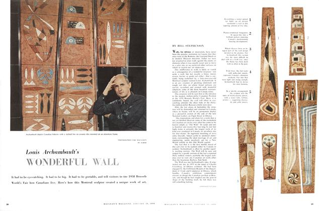 Article Preview: WONDERFUL WALL, January 1958 | Maclean's