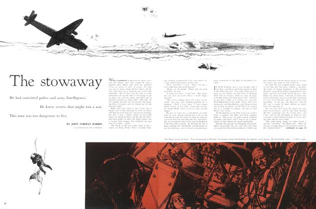 Article Preview: The stowaway, January 1958 | Maclean's