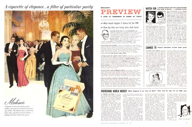 Article Preview: A LOOK AT TOMORROW IN TERMS OF TODAY, January 1958 | Maclean's