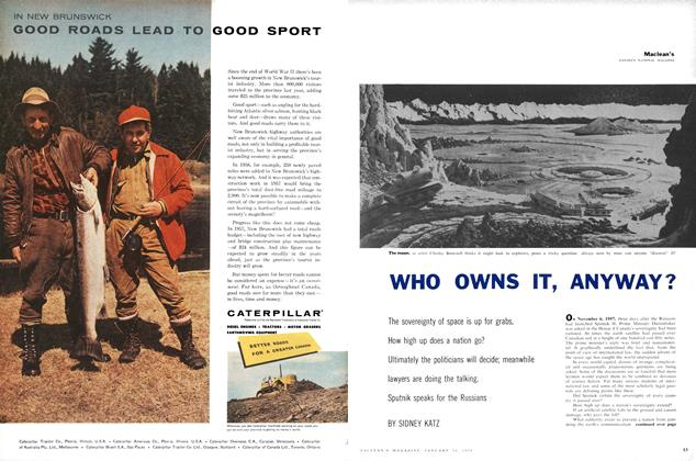 Article Preview: WHO OWNS IT, ANYWAY?, January 1958 | Maclean's