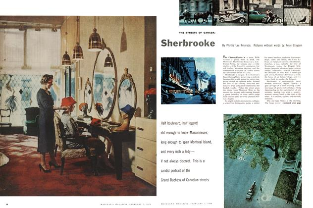 Article Preview: Sherbrooke, February 1958 | Maclean's