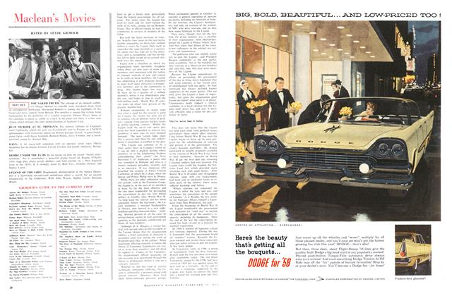 Article Preview: Maclean's Movies, February 1958 | Maclean's