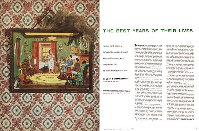 Article Preview: THE BEST YEARS OF THEIR LIVES, March 1958 | Maclean's