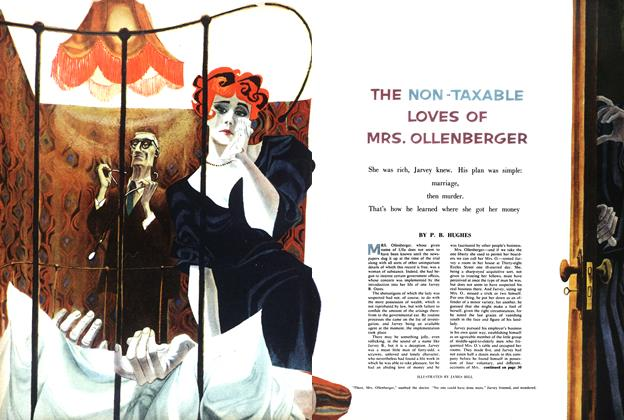 Article Preview: THE NON TAXABLE LOVES OF MRS. OLLENBERGER, March 1958 | Maclean's