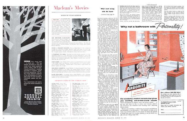Article Preview: Maclean's Movies, March 1958 | Maclean's