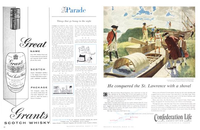 Article Preview: Parade, March 1958 | Maclean's