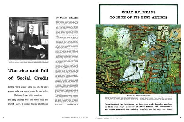 Article Preview: The rise and fall of Social Credit, May 1958 | Maclean's