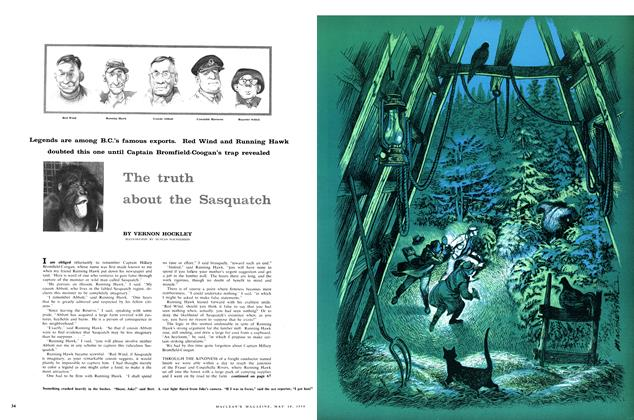 Article Preview: The truth about the Sasquatch, May 1958 | Maclean's