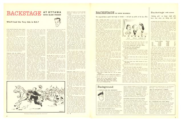 Article Preview: BACKSTAGE IN SHOW BUSINESS, May 1958 | Maclean's
