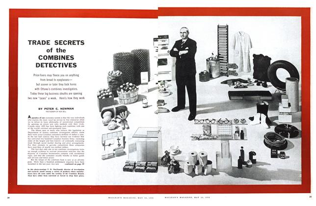 Article Preview: TRADE SECRETS of the COMBINES DETECTIVES, May 1958 | Maclean's