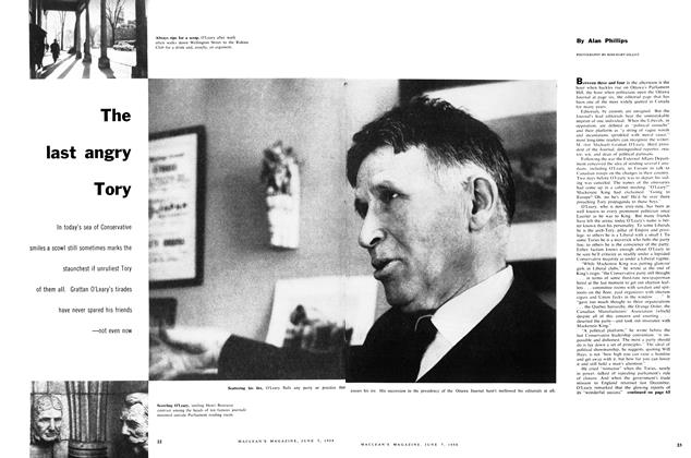 Article Preview: The last angry Tory, June 1958 | Maclean's