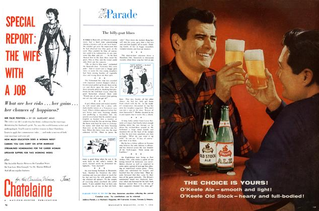 Article Preview: Parade, June 1958 | Maclean's