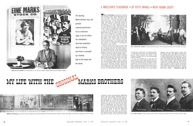 Article Preview: MY LIFE WITH THE ORIGINAL MARKS BROTHERS, June 1958 | Maclean's