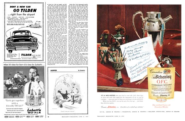 Article Preview: JASPER, June 1958   Maclean's