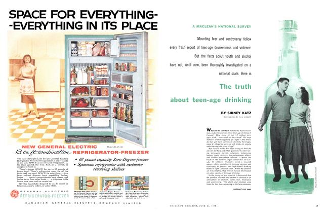 Article Preview: The truth about teen-age drinking, June 1958 | Maclean's