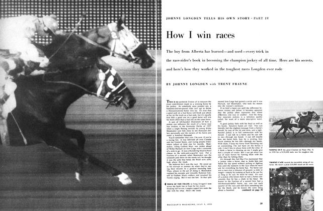 Article Preview: How I win races, July 1958 | Maclean's