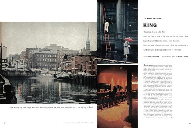 Article Preview: KING, August 1958 | Maclean's