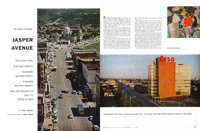 Article Preview: The streets of Canada: JASPER AVENUE, September 1958 | Maclean's