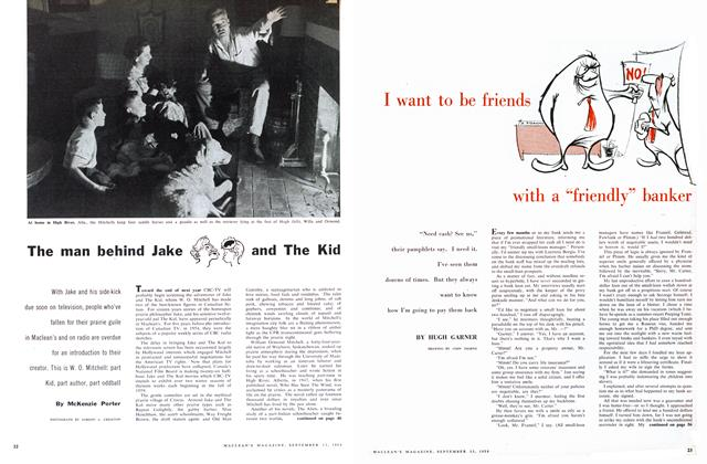 Article Preview: The man behind Jake and The Kid, September 1958 | Maclean's