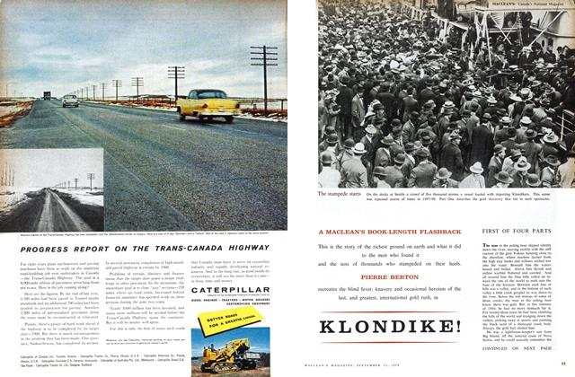 Article Preview: KLONDIKE!, September 1958 | Maclean's