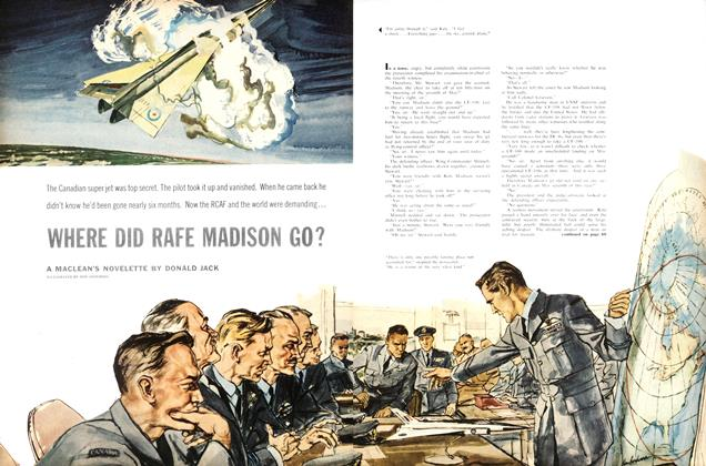 Article Preview: WHERE DID RAFE MADISON GO?, October 1958 | Maclean's