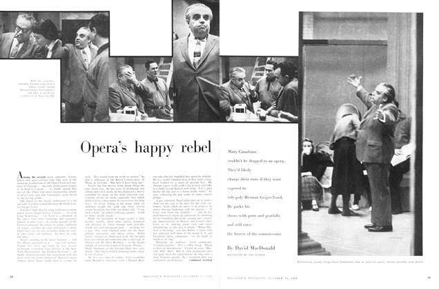 Article Preview: Opera's happy rebel, October 1958 | Maclean's