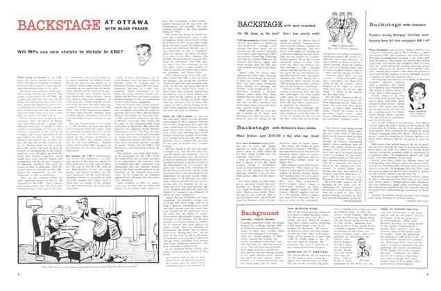 Article Preview: BACKSTAGE with quiz scandals, October 1958 | Maclean's