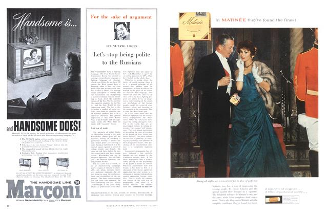 Article Preview: Let's stop being polite to the Russians, October 1958   Maclean's