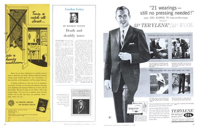 Article Preview: Death and deathly taxes, October 1958   Maclean's