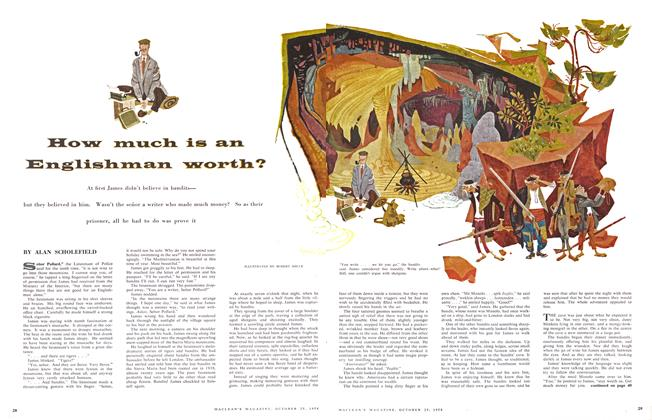 Article Preview: How much is an Englishman worth?, October 1958 | Maclean's