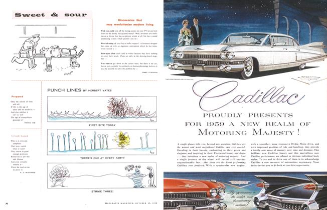 Article Preview: Discoveries that may revolutionize modern living, October 1958 | Maclean's