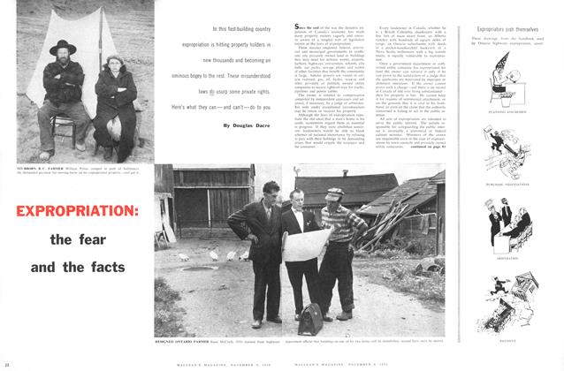 Article Preview: EXPROPRIATION: the fear and the facts, November 1958 | Maclean's