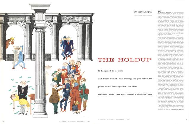 Article Preview: THE HOLDUP, November 1958 | Maclean's