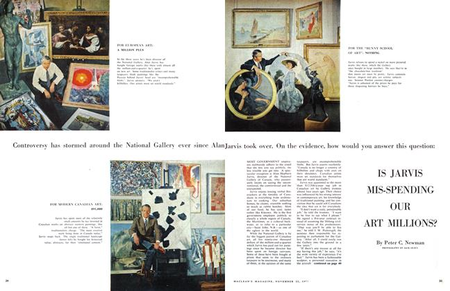 Article Preview: IS JARVIS MIS-SPENDING OUR ART MILLIONS?, November 1958 | Maclean's