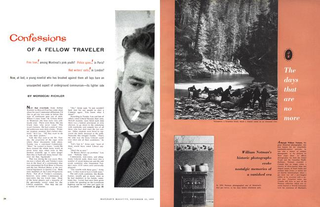 Article Preview: Confessions OF A FELLOW TRAVELER, November 1958 | Maclean's