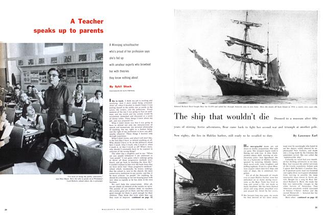 Article Preview: The ship that wouldn't die, December 1958 | Maclean's