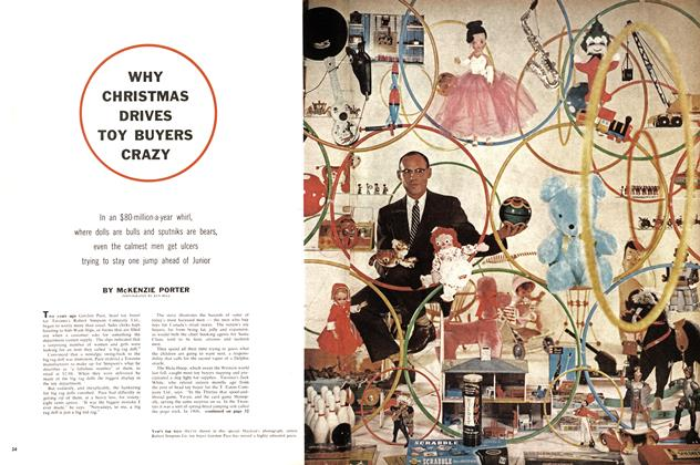 Article Preview: WHY CHRISTMAS DRIVES TOY BUYERS CRAZY, December 1958 | Maclean's