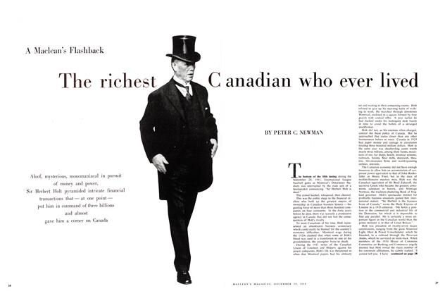 Article Preview: The richest Canadian who ever lived, December 1958 | Maclean's