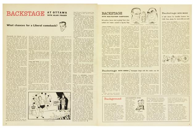 Article Preview: BACKSTAGE, December 1958 | Maclean's