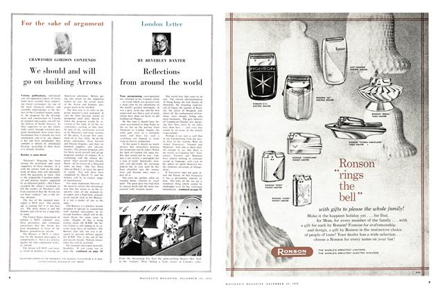 Article Preview: London Letter, December 1958 | Maclean's