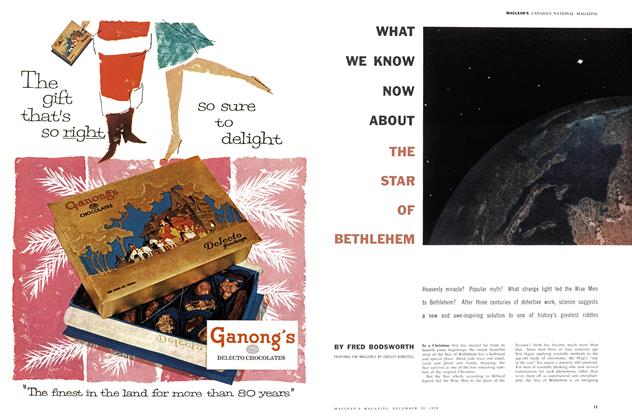 Article Preview: WHAT WE KNOW NOW ABOUT THE STAR OF BETHLEHEM, December 1958 | Maclean's