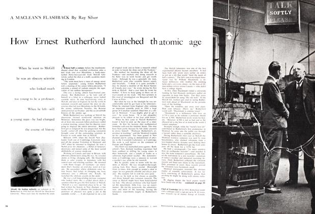 Article Preview: How Ernest Rutherford launched the atomic age, January 1959 | Maclean's