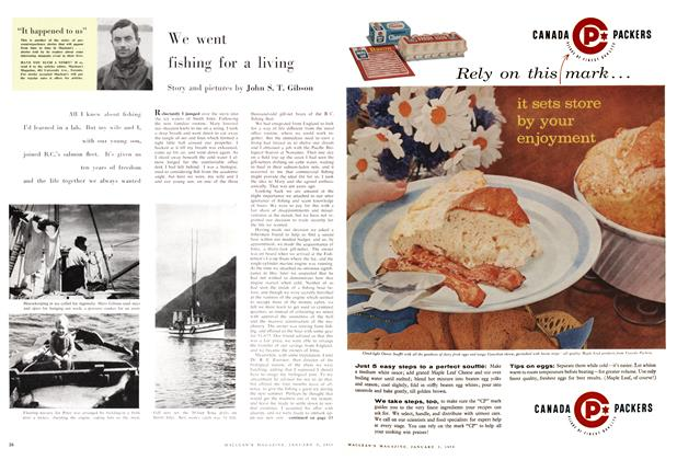 Article Preview: We went fishing for a living, January 1959 | Maclean's
