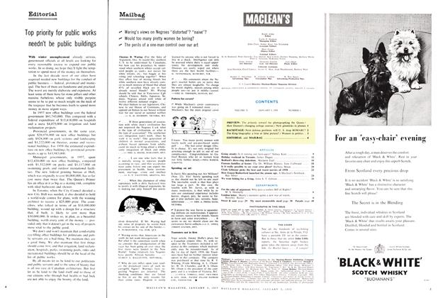 Article Preview: Mailbag, January 1959 | Maclean's