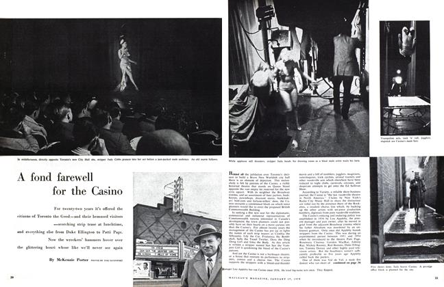 Article Preview: A fond farewell for the Casino, January 1959 | Maclean's